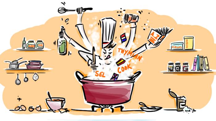 Apprendre une langue étrangère en cuisinant : la méthode idéale