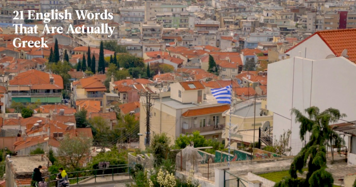 21 Greek Words Used In English (And The Stories Behind Them) | Babbel