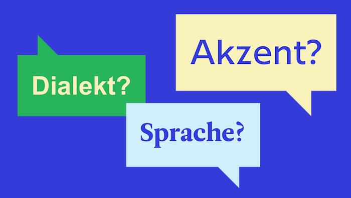 Wissenswertes über Sprachen, Dialekte und Akzente