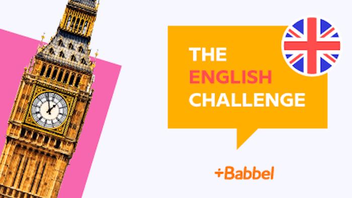 English Challenge – Termes et Conditions de participation