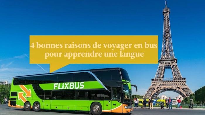4 bonnes raisons de voyager en bus pour apprendre une langue étrangère