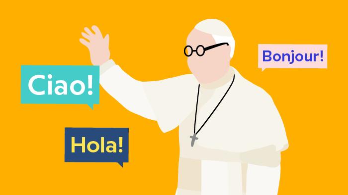 Als Papst mehrsprachig sein – mehr als nur ein Bonus
