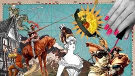 La storia delle invasioni d'Italia nella lingua parlata