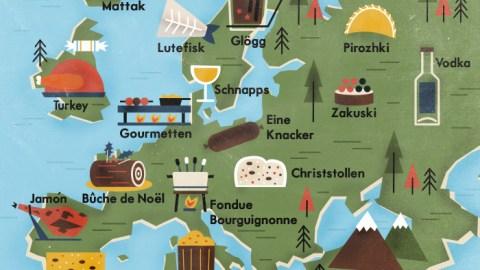 Pimentez votre repas de Noël avec ces spécialités de toute l'Europe