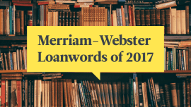 Foreign Words Added To The Dictionary In 2017