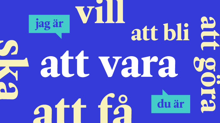 Les 20 verbes les plus courants en suédois