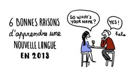 6 bonnes raisons d'apprendre une nouvelle langue en 2018