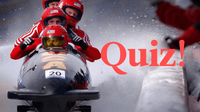 Quiz: Can You Match The Winter Olympics-Related Word To Its Language Of Origin?