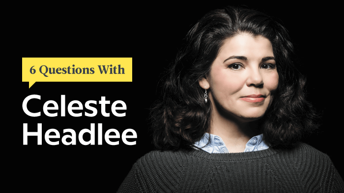 6 Questions With Master Conversationalist Celeste Headlee