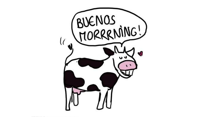 8 expressions illustrées pour ceux qui parlent français comme une vache espagnole