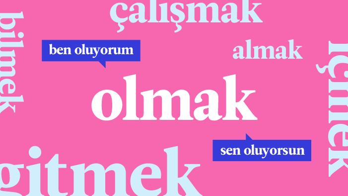 I 20 verbi più utilizzati in turco