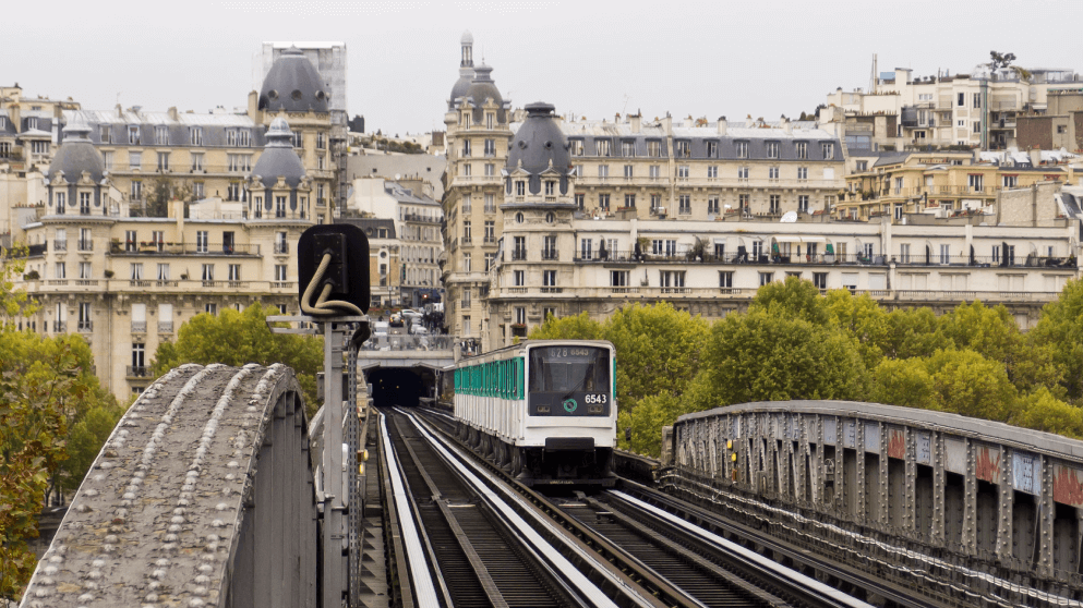 Subway systems around the world Paris