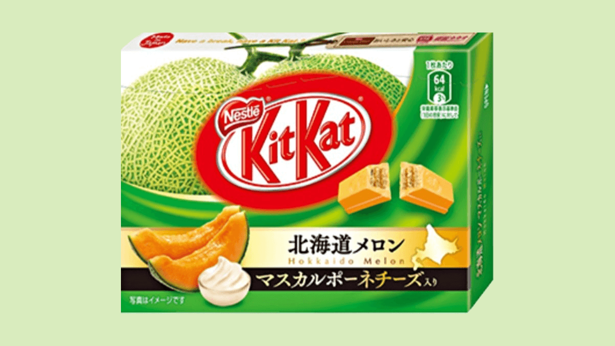 Hokkaido Melon Kit Kat
