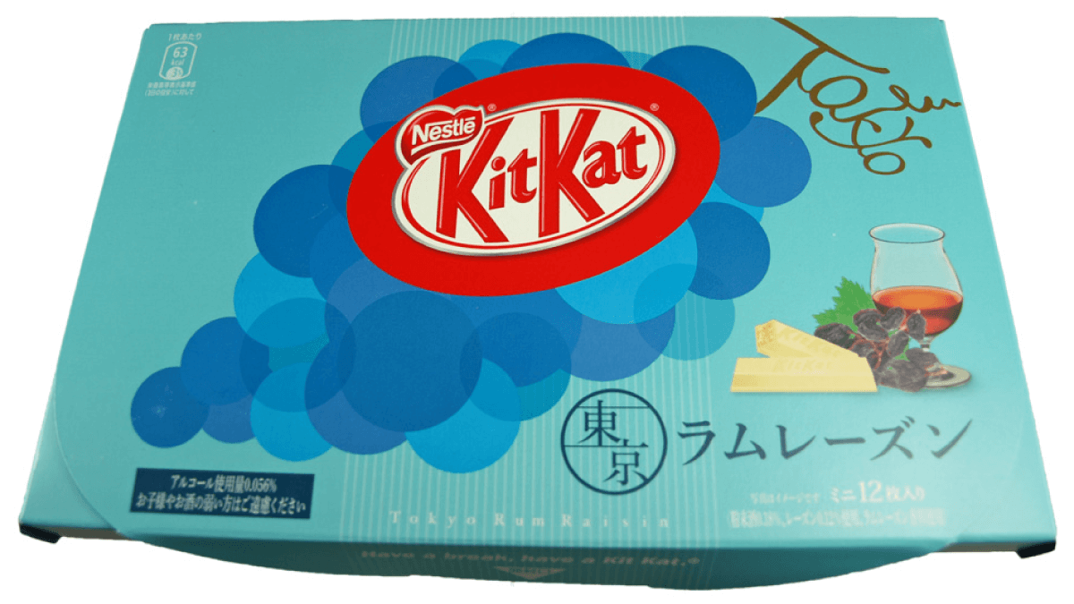Rum Raisin Kit Kat