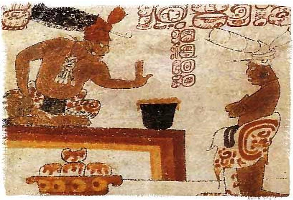history of chocolate mayans