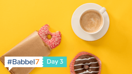 #Babbel7 Day 3: Food, Glorious Food