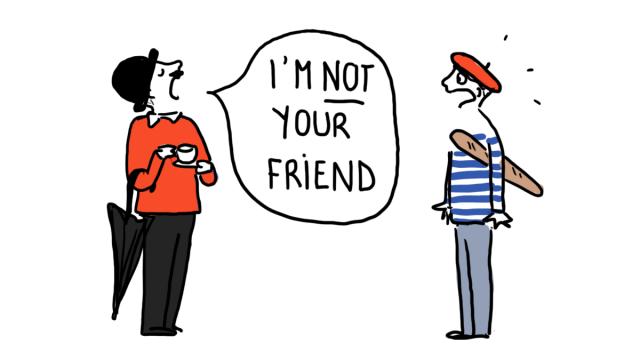 Ces chers amis en anglais… qui sont de faux amis !