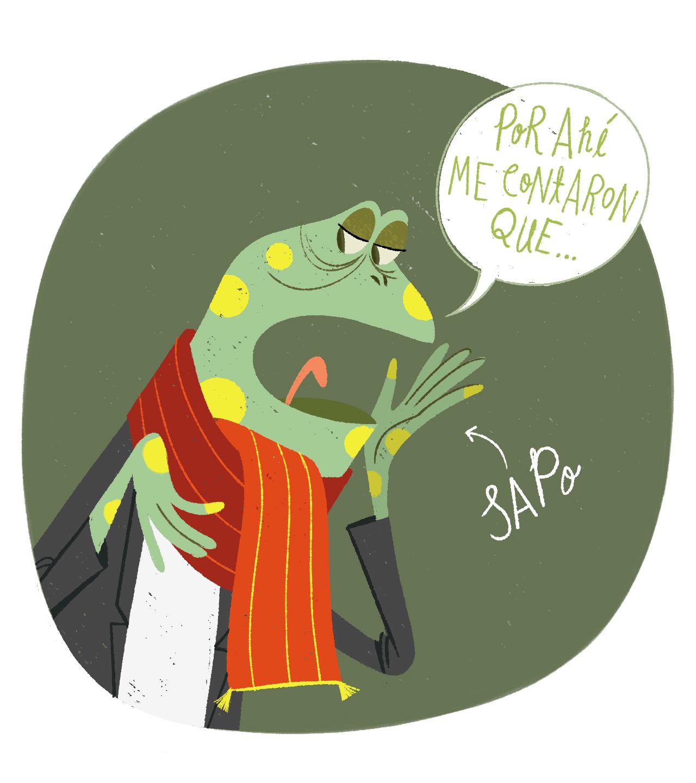 """¿Qué significa """"sapo"""" en Bogotá?"""