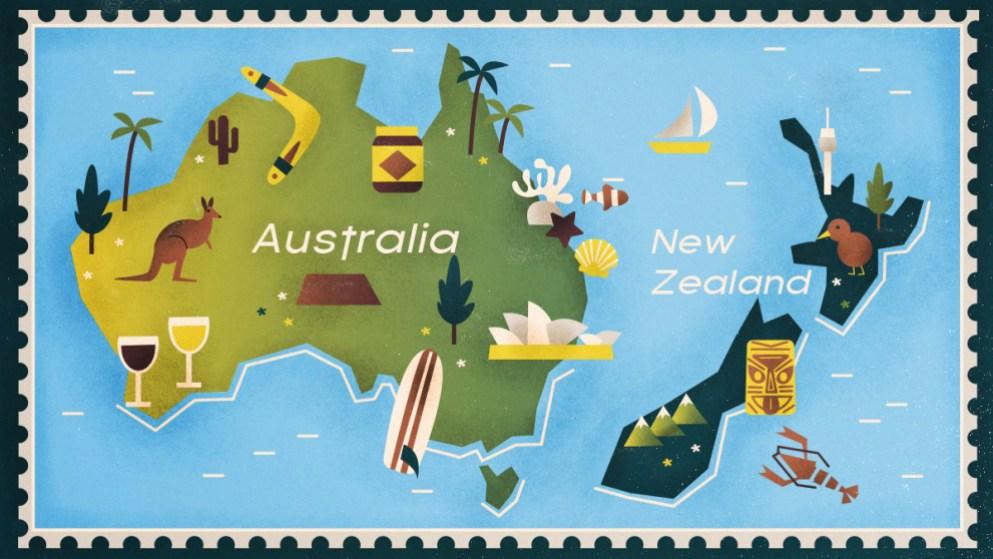 El acento australiano en comparación con el acento neozelandés