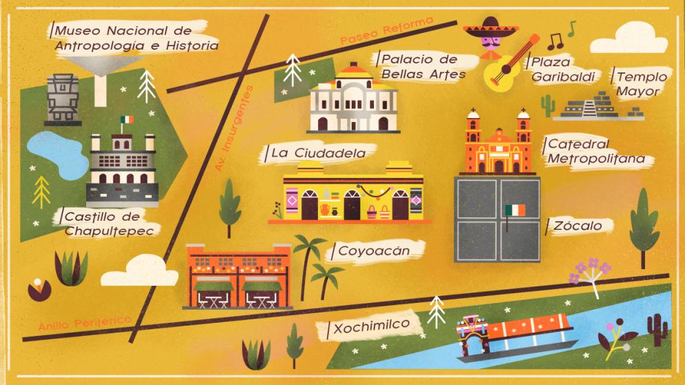 Guida di viaggio a Città del Messico: cosa fare e come prepararsi