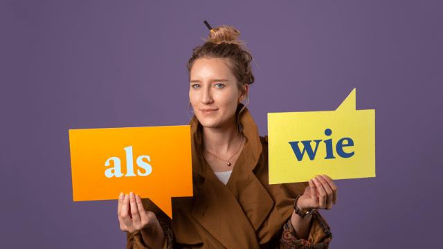 Ein Fall für die Grammatik: als und wie –was benutzt du wann?