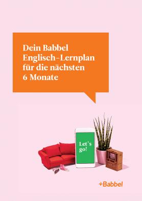 Dein Englisch-Lernplan