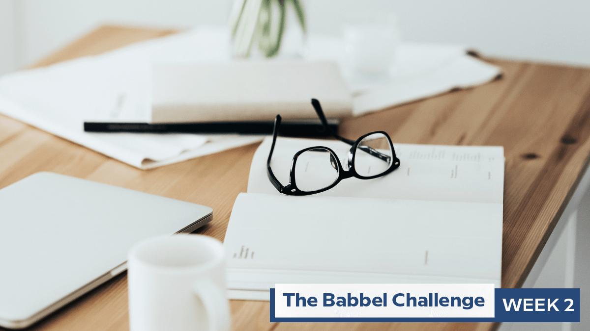 Babbel Challenge Week 2: Establish A Habit