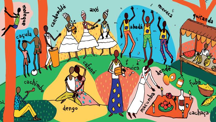 La influencia africana en el portugués de Brasil