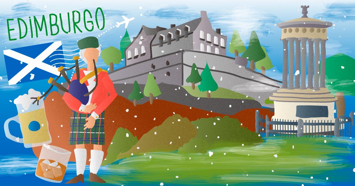 Los paisajes de Edimburgo