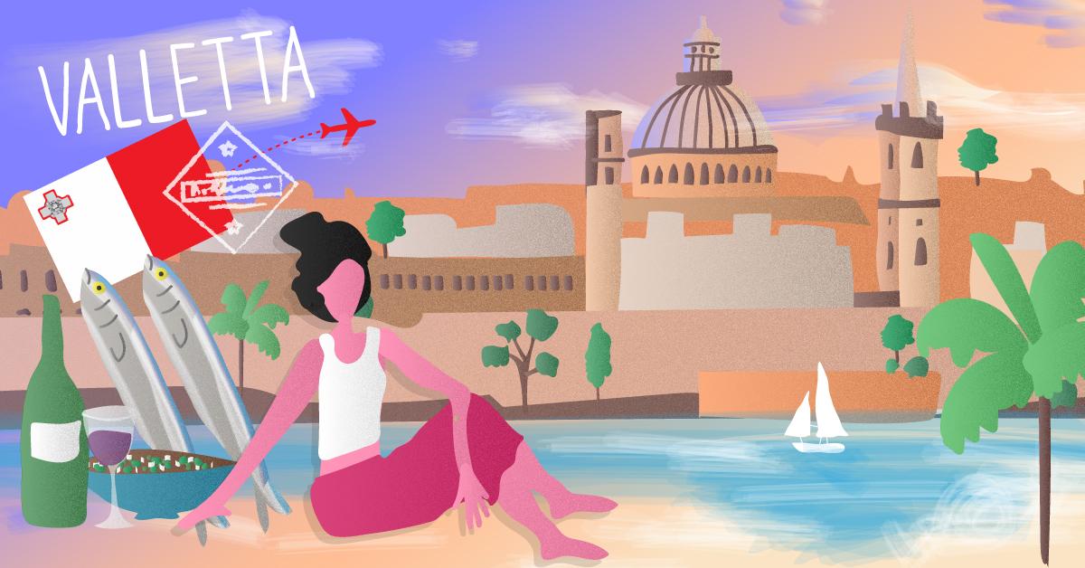 Valletta: la vida en el mediterráneo
