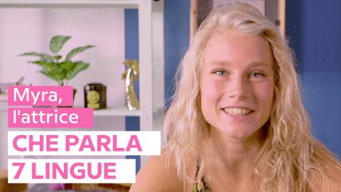 """Myra: """"essere portati"""" non è tutto per imparare una lingua"""