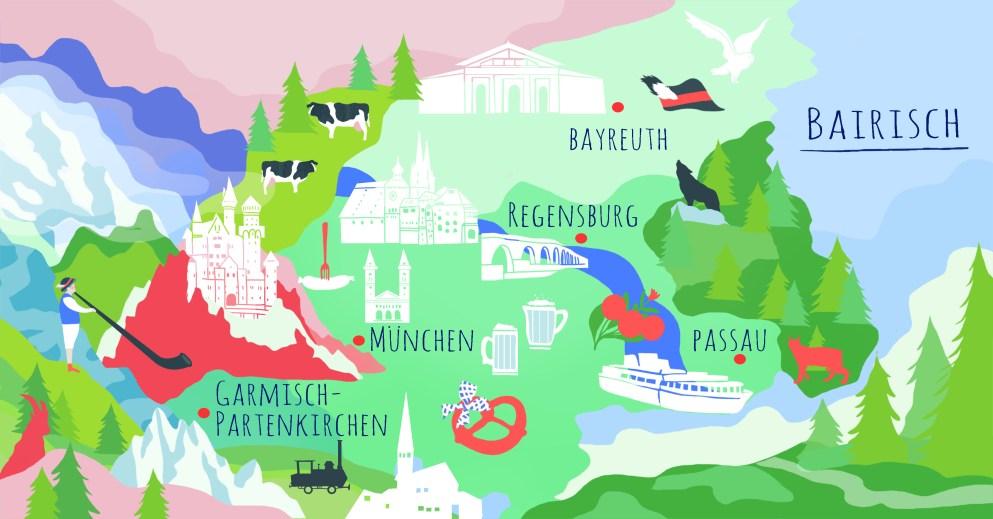 Bairisch – ein Kultdialekt … oder ganz viele Kultdialekte?