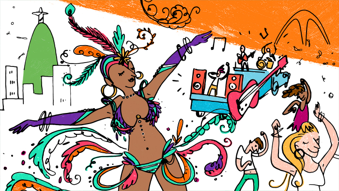 Tradizioni e parole da conoscere per prepararsi al carnevale brasiliano