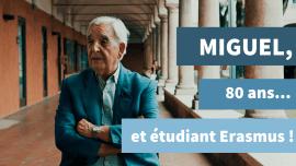 Séniors et langues étrangères : le nouveau défi de Miguel, 80 ans, étudiant Erasmus !