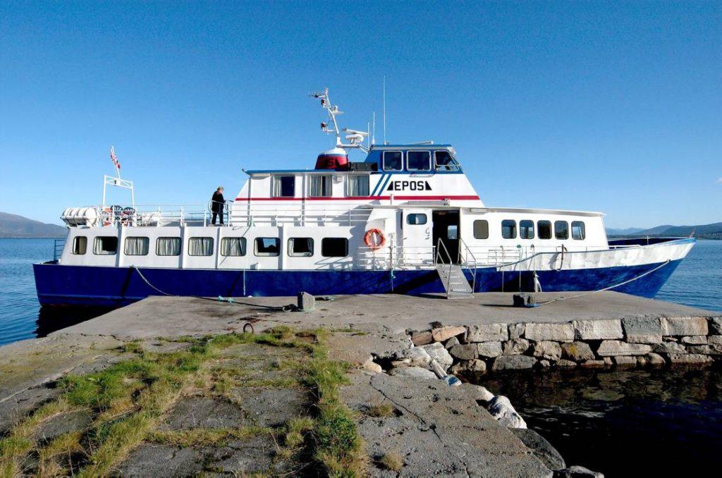 Epos book boat Norway
