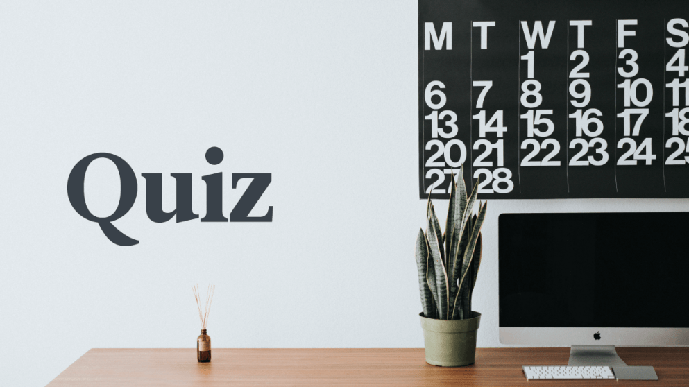 Quiz: Do You Know The Days Of The Week In German?