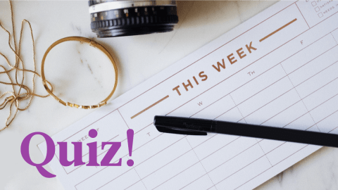 Quiz: Do You Know The Days Of The Week In Italian?