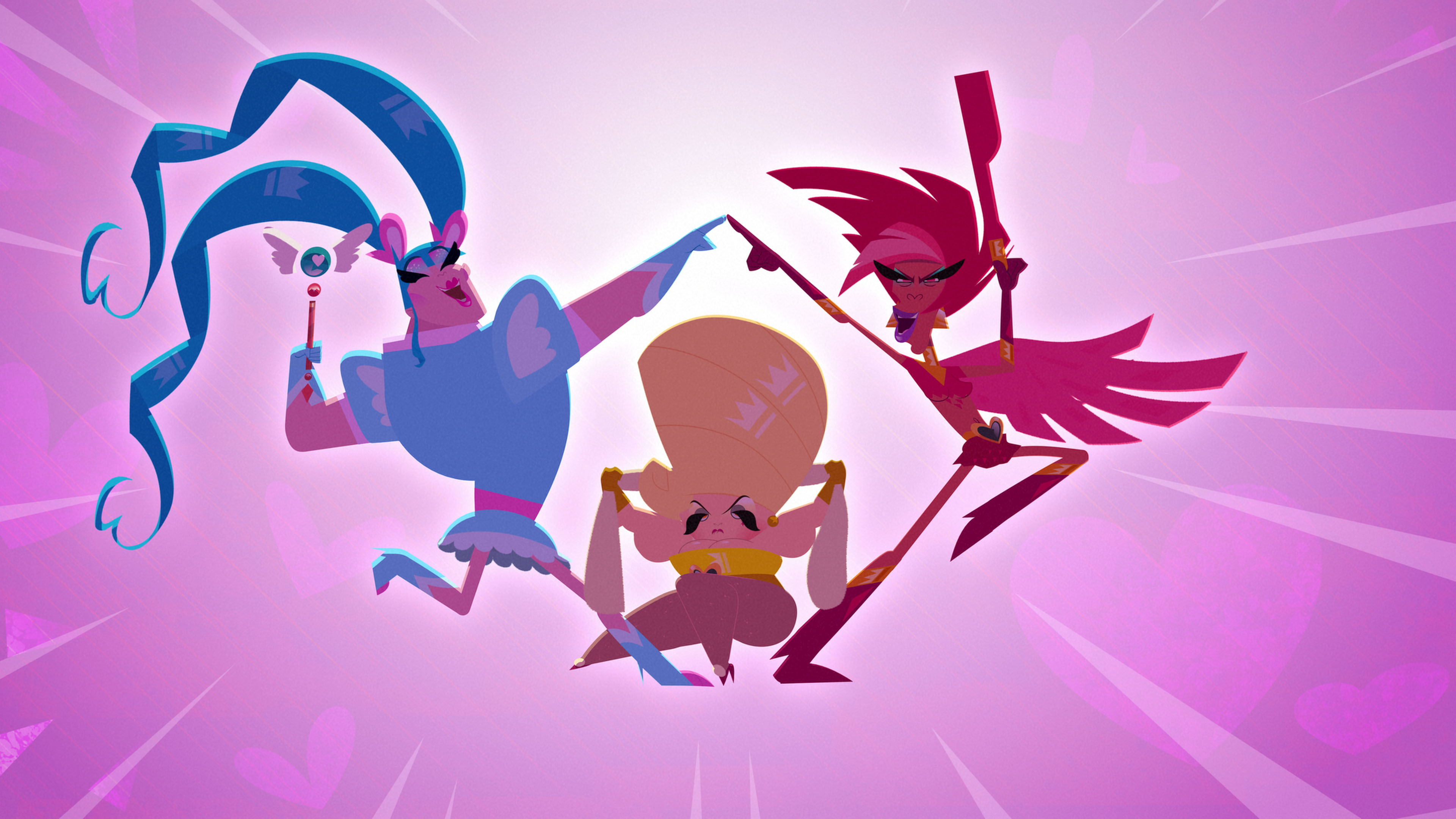 still from Super Drags