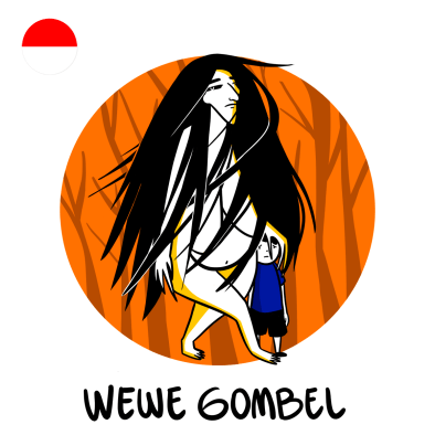 Wewe-Gombel - die indonesische Butzefrau
