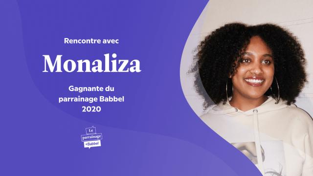 Rencontre avec Monaliza HAILE, gagnante du parrainage Babbel 2020