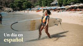 Un Día En Español 1: Surfing In Puerto Escondido