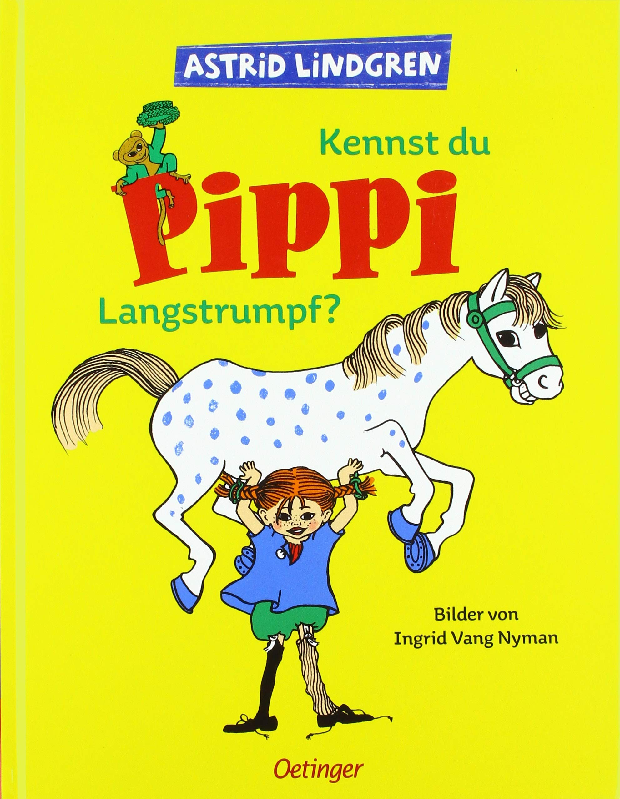 Pippi Långstrump By Astrid Lindgren - one of the top 10 translated books in the world