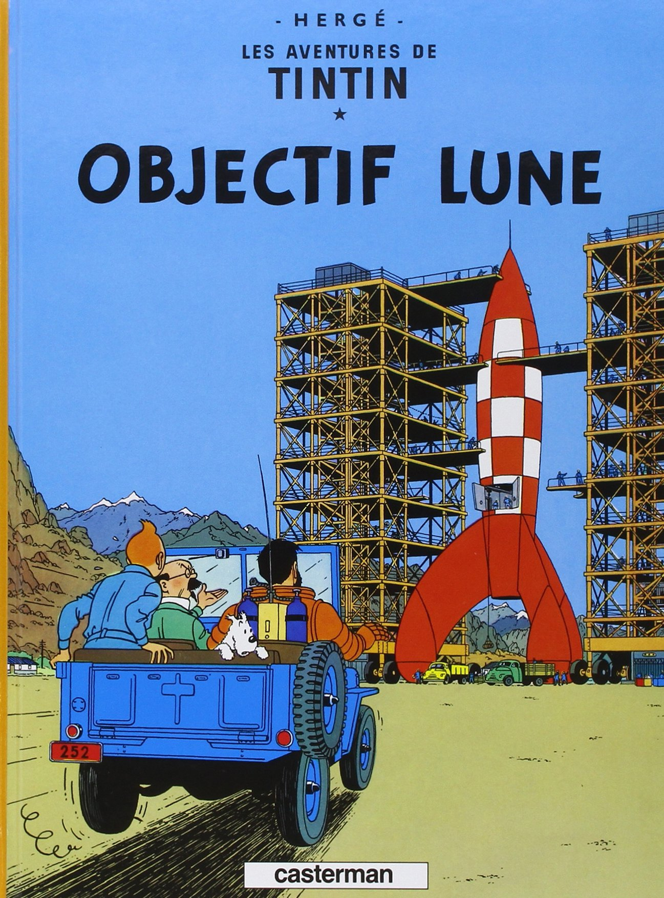 7. Les Aventures de Tintin By Hergé - one of the top 10 translated books in the world