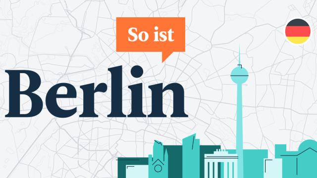 """Vi presenterar """"So ist Berlin"""" – vår senaste podd för dig som lär dig tyska."""