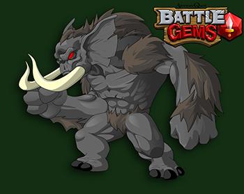 Batalha Gems Gorillaphant