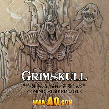 Grimskull ESTA AO Chegando AQWorlds!