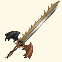 shinobi gekido dragon sword weapon