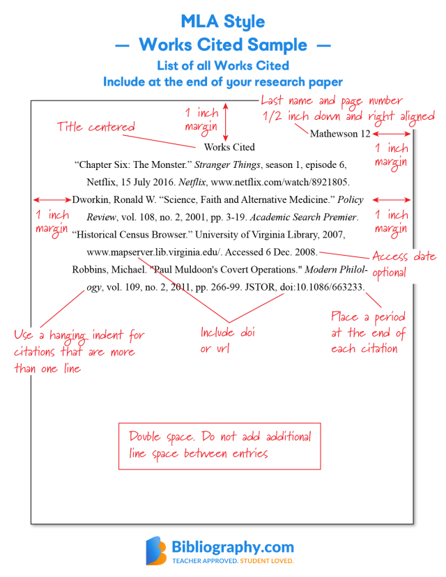 Bibliography Examples for Students  Bibliography.com