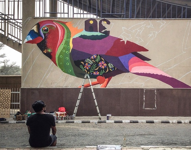<b>St+art in Collaboration with Asian Paints Delhi</b>