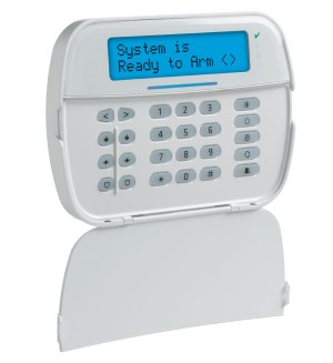 Full Message LCD Hardwired Keypad | DSC Home Security